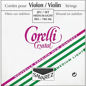 Corelli-Crystal-Violin-Strings-Set--Loop-E-Light-4-4-Size