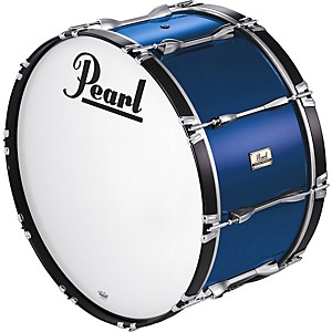 Pearl-24x14-Championship-Series-Marching-Bass-Drum-24X14-Aurora-Blue