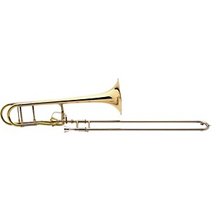 Bach-42T-Stradivarius-Pro-Trombone-with-Thayer-Valve-LT42TG-Gold-Brass-Bell-Lightweight-Slide