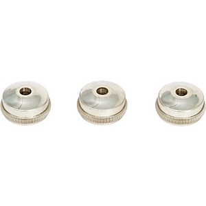 Bach-Heavy-Bottom-Valve-Caps-for-Trumpet-Nickel-Silver---Set-Of-Three