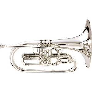 King-1121-Ultimate-Series-Marching-F-Mellophone-1121SP-Silver