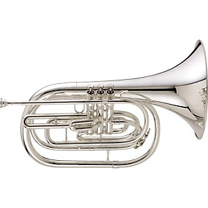 King-1122-Ultimate-Series-Marching-Bb-French-Horn-1122SP-Silver