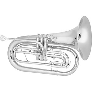 King-1124-Ultimate-Series-Marching-Bb-Baritone-1124SP-Silver