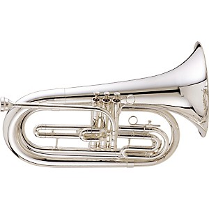 King-1127-Ultimate-Series-Marching-Bb-Baritone-1127SP-Silver