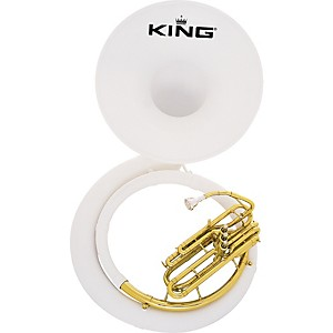 King-2370-Fiberglass-Sousaphone-2370W-Instrument-With-Case