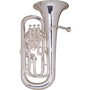 Besson-BE968-Sovereign-Series-Compensating-Euphonium-Silver