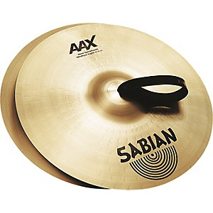 Sabian-AAX-New-Symphonic-Medium-Light-Cymbal-Pair-21-Inch