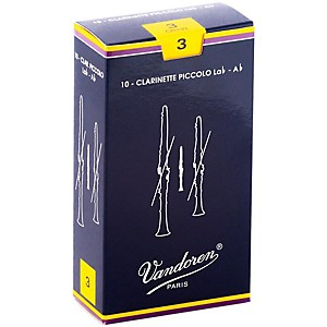 Vandoren-Ab-Sopranino-Clarinet-Reeds-Strength-3--Box-of-10