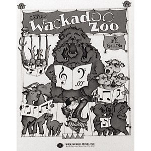 Shawnee-Press-Wackadoo-Zoo--Book--Student-Book