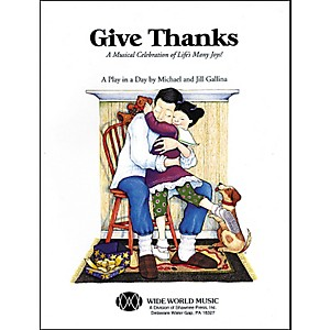 Shawnee-Press-Give-Thanks--Book-CD--Book-And-Cd