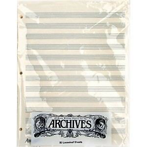 Archives-Loose-Leaf-Manuscript-Paper-12-Staves-50-Sheets