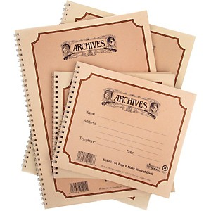 Archives-Spiral-Bound-Manuscript-Paper-10-Staves