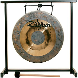 Zildjian-P0565-Traditional-Gong-and-Stand-Set-Standard