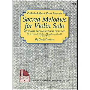 Mel-Bay-Sacred-Melodies-for-Violin-Solo-Standard