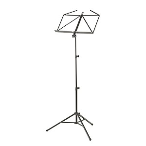 K-M-Heavy-Duty-Music-Stand-Black
