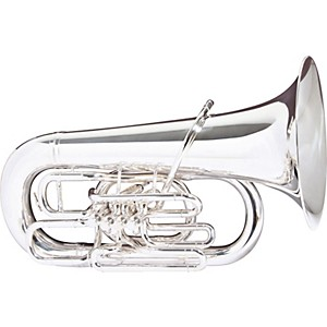 Besson-BE983-Sovereign-Series-Compensating-EEb-Tuba-Silver