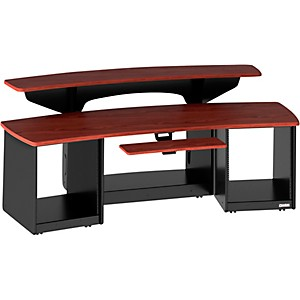 Omnirax-Force-24-Studio-Desk-Mahogany
