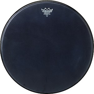 Remo-Powerstroke-Black-Suede-Bass-Drum-Batter-Drumhead-20-