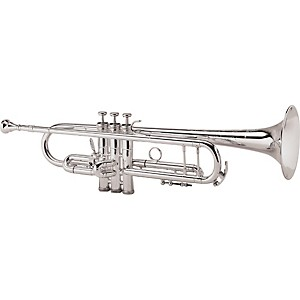 King-2055-Silver-Flair-Series-Bb-Trumpet-2055T-Silver-1st-Valve-Thumb-Trigger