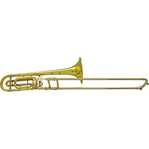 Bach-42B-Stradivarius-Series-Trombone-LT42B-Yellow-Brass-Bell-Lightweight-Slide