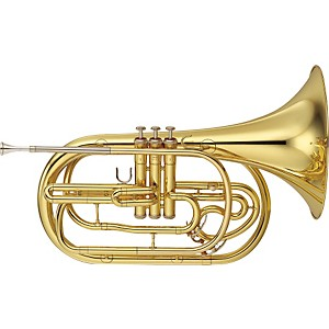 YAMAHA-YHR-302M-Series-Marching-Bb-French-Horn-Lacquer