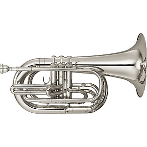 Yamaha-YBH-301M-Series-Marching-Bb-Baritone-Silver