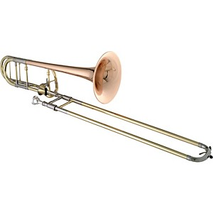 Getzen-3047AF-Custom-Series-F-Attachment-Trombone-3047AFR-Lacquer-Red-Brass-Bell