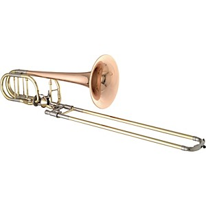 Getzen-3062AF-Custom-Series-Bass-Trombone-3062AFR-Lacquer-Red-Brass-Bell