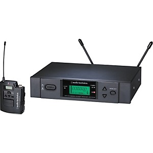 Audio-Technica-ATW-3110b-3000-Series-UniPak-Wireless-System-Channel-D