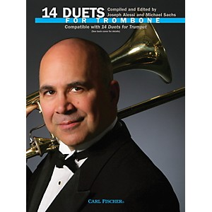 Carl-Fischer-14-Duets-for-Trombone-Book-Standard