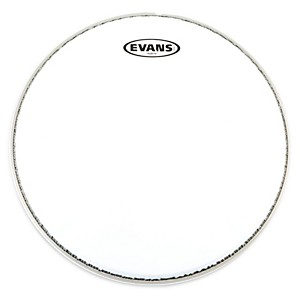 Evans-Hybrid-Marching-Snare-Drum-Batter-Head-White-14in