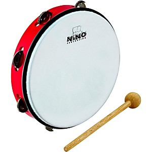 Nino-ABS-Jingle-Drums-Tambourine-10--Red