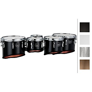 Mapex-QUANTUM-MULTI-TOMS-6---8---10---12---13--Grey-Steel