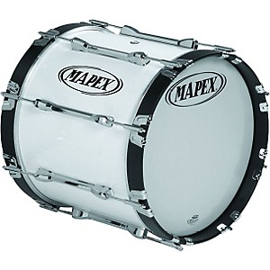 Mapex-QUALIFIER-BASS-DRUM-Snow-White-26-X-14-Inch
