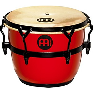 Meinl-Floatune-Fiberglass-Qweeka---Cuica-Drum-Red-8-In