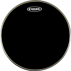 Evans-MX1-Marching-Bass-Drum-Head-Black-30-Inch