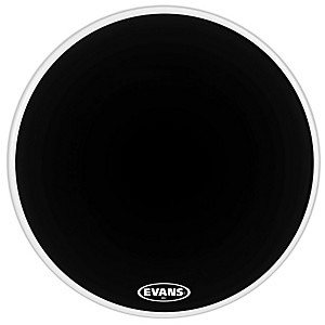 Evans-MX2-Black-Marching-Bass-Drum-Head-Black-16-Inch