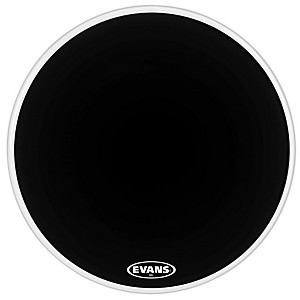 Evans-MX2-Black-Marching-Bass-Drum-Head-Black-30-Inch