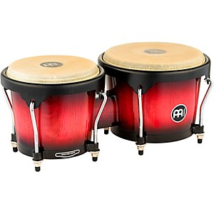 Meinl-Headliner-Series-Wood-Bongos-Wine-Red-Burst
