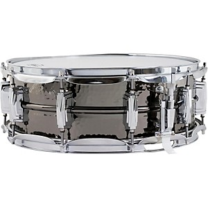 Ludwig-Supraphonic-Black-Beauty-Hammered-Snare-Drum-5X14