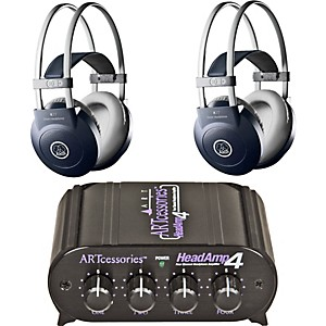AKG-Headamp-4-K77-Headphone-Two-Pack-Standard
