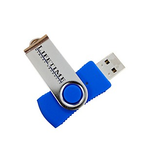 Lifetime-Memory-Products-USB-2-0-QuickStick-Swivel-Flash-Drive-16gb