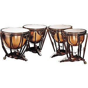 Ludwig-LKP504PG-Professional-Polished-Copper-Timpani-Set-Standard