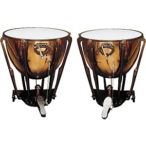 Ludwig-LKS402PG-Stand-Polished-Copper-Timp-Set-Standard