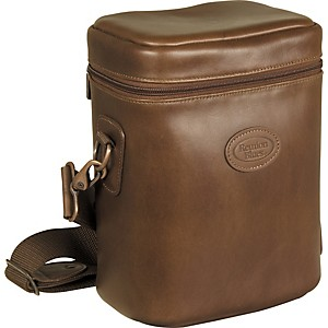Reunion-Blues-921-Series-Fabric-Multiple-Brass-Mute-Bag-Chestnut-Brown-Leather