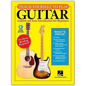Hal-Leonard-Teach-Yourself-to-Play-Guitar-Book-CD-Standard