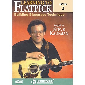 Homespun-Learning-to-Flatpick-DVD-2---Building-Bluegrass-Technique--DVD--Standard