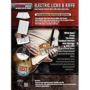 Alfred-Shredhed-Electric-Licks---Riffs-Poster-Standard