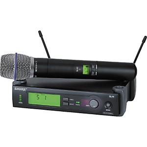 Shure-SLX24-BETA87A-Wireless-Mic-Sys-CH-G4