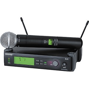Shure-SLX24-SM58-Wireless-Microphone-System-CH-G4